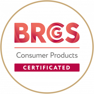 BRCGS logo on a white background
