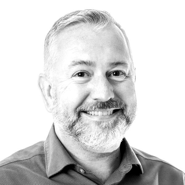 Portrait of Stuart Seddon, Finance Director